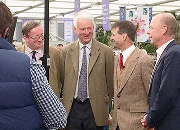 Chelsea Flower Show – Rupert Eley interviewed by Joe Swift